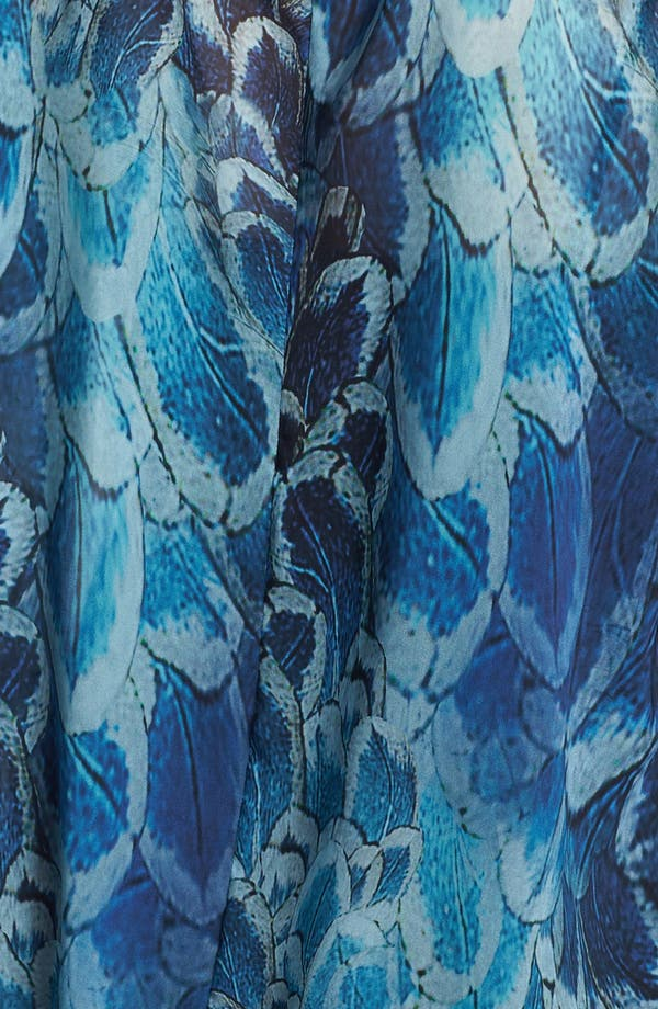 Alternate Image 3  - Evans Print Faux Wrap Blouse (Plus Size)