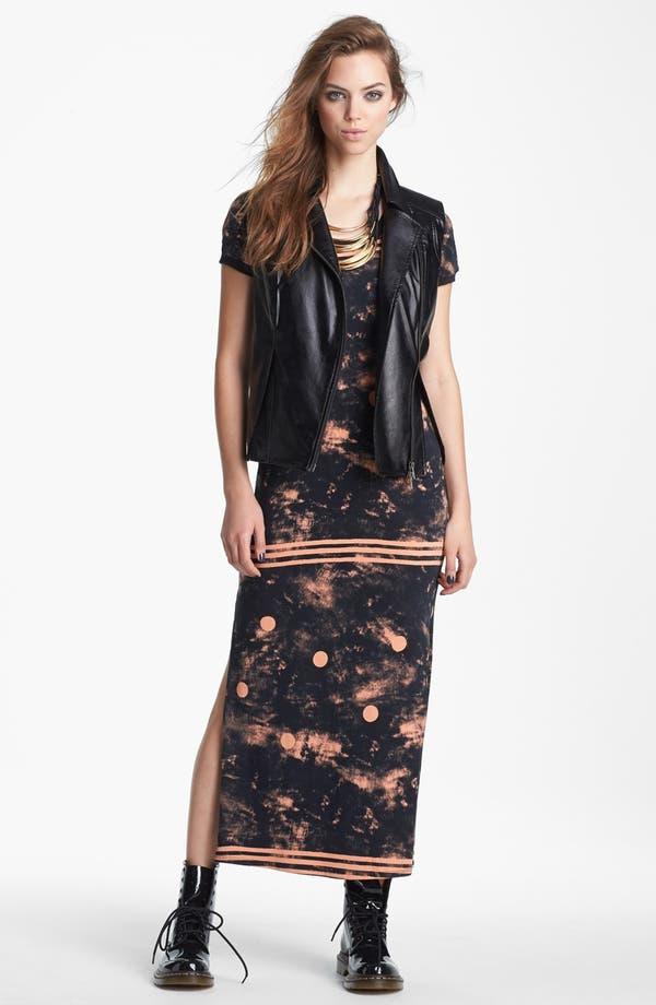 Alternate Image 4  - Viva Vena! Print Tee Maxi Dress