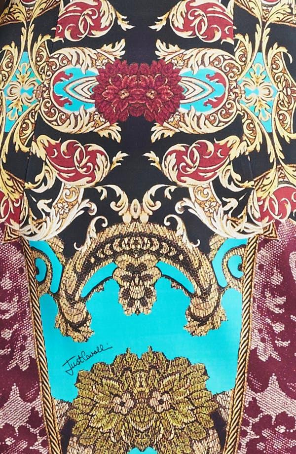 Alternate Image 3  - Just Cavalli Cap Sleeve Print Jersey Dress