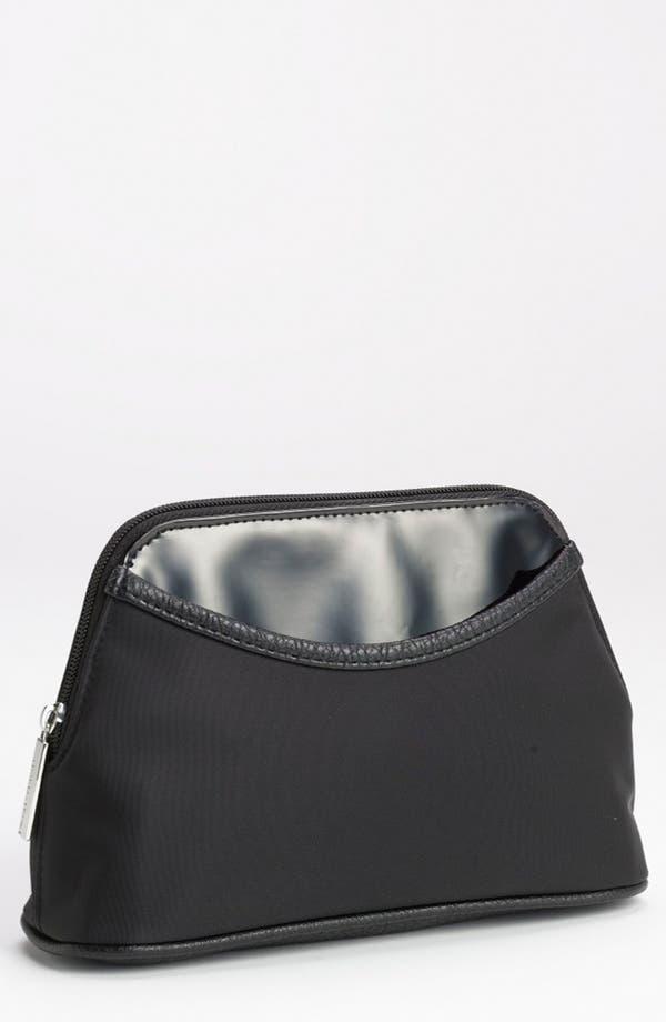 Main Image - Nordstrom Faux Leather Trim Cosmetics Bag (Medium)