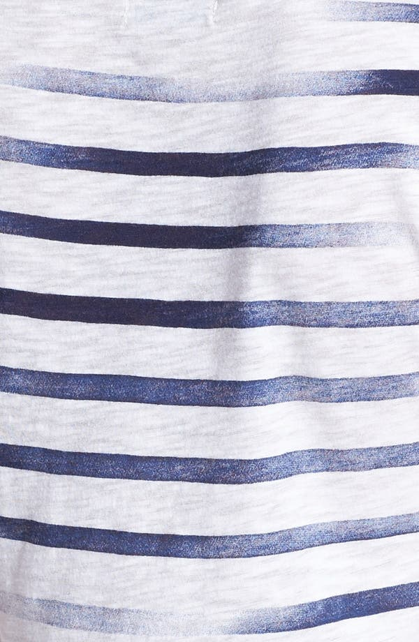 Alternate Image 3  - Lucky Brand 'Kendra' Paisley Graphic Stripe Tee