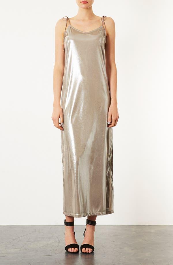 Alternate Image 1 Selected - Topshop Scoop Back Maxi Dress