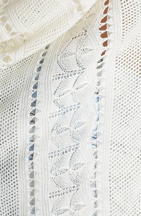 Alternate Image 3  - Love By Design Open Back Pointelle Sweater (Juniors)