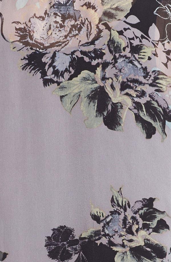 Alternate Image 3  - Citron Drape Front Silk Jacket