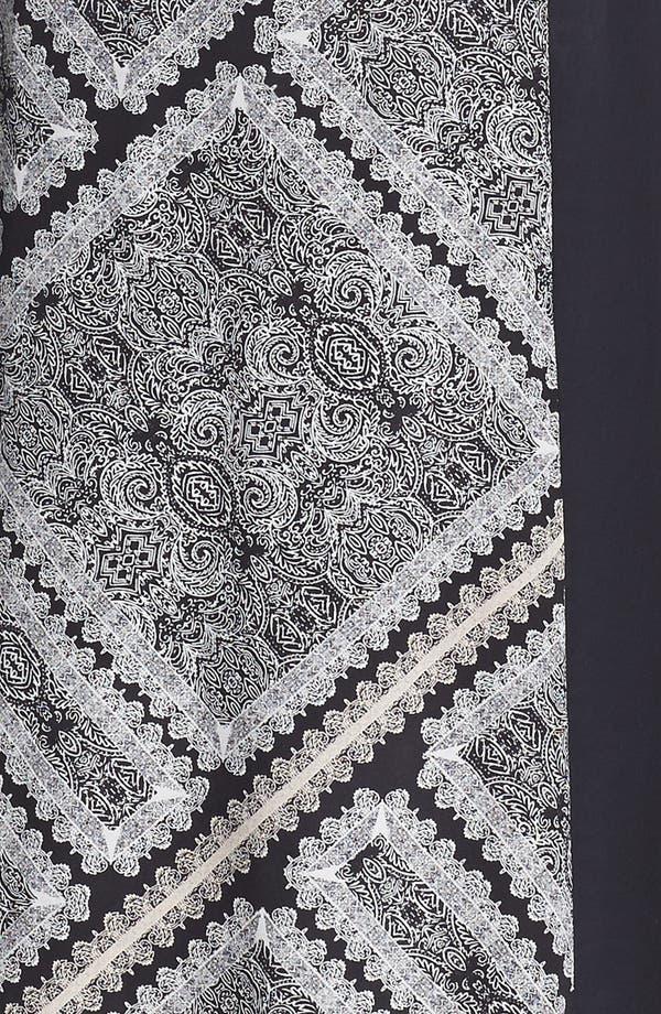 Alternate Image 3  - Ella Moss Print Panel Maxi Dress