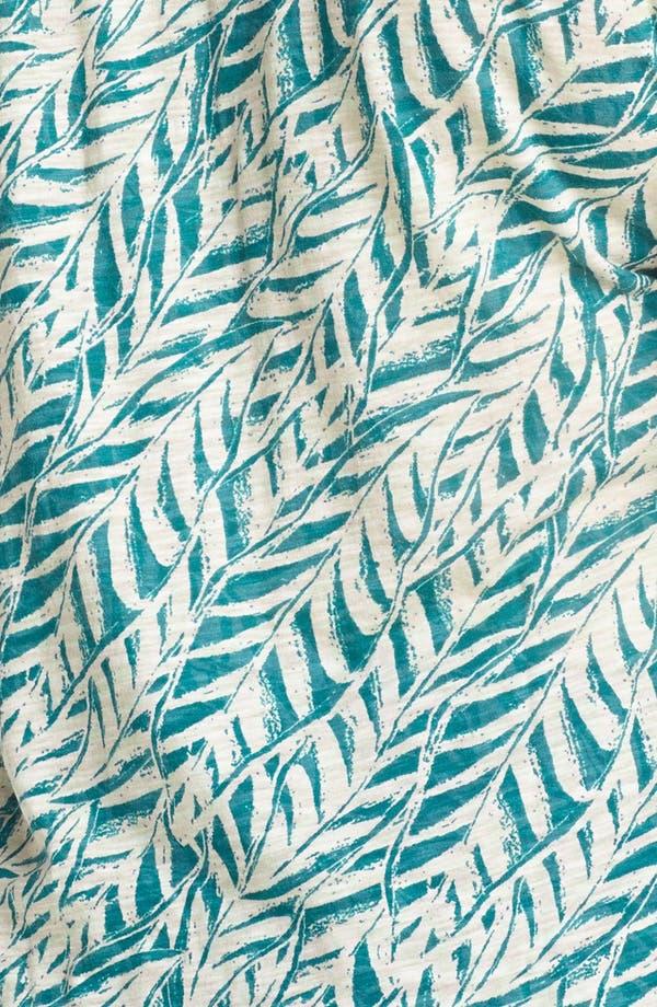 Alternate Image 3  - Lucky Brand 'Myra' Tropical Print Top (Plus Size)