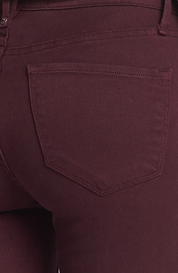 Alternate Image 3  - MARC BY MARC JACOBS 'Stick' Colored Skinny Stretch Jeans (Wine Tasting)