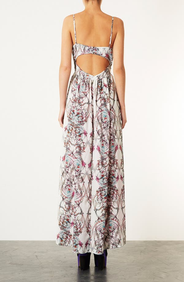 Alternate Image 2  - Topshop 'Marker Paisley' Print Maxi Dress
