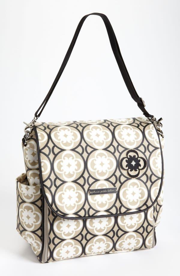 Alternate Image 5  - Petunia Pickle Bottom 'Boxy Glazed' Backpack Diaper Bag