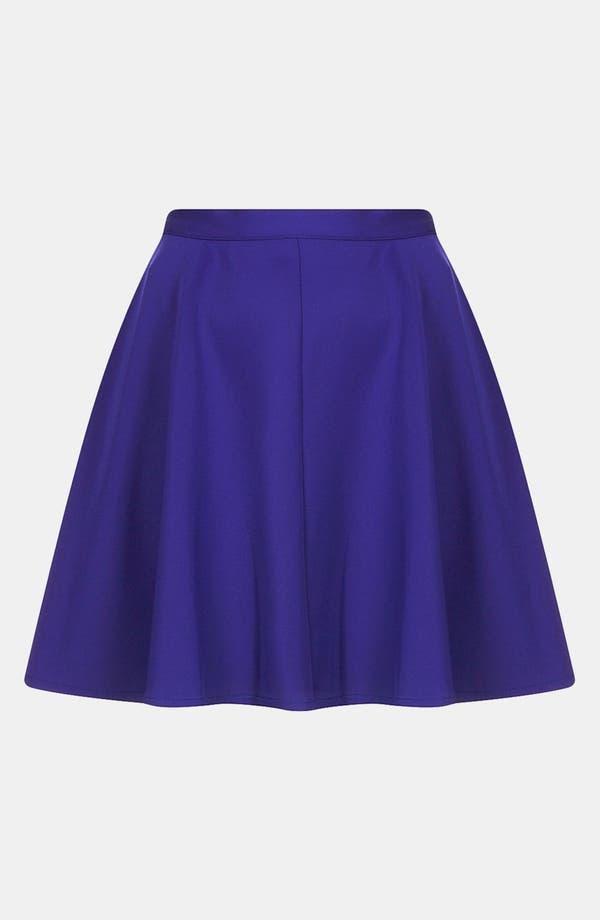 Alternate Image 3  - Topshop Scuba Skater Skirt