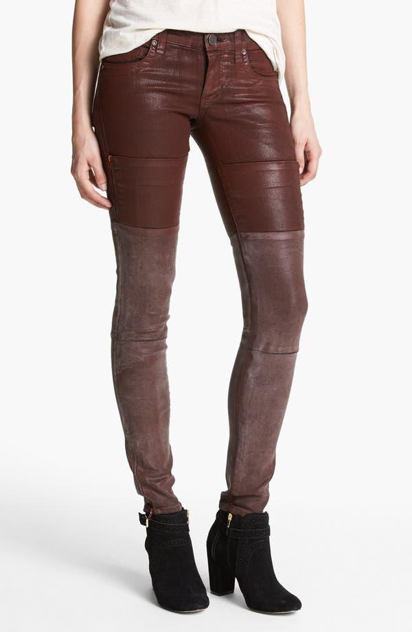 Alternate Image 1  - edyson Skinny Moto Pants