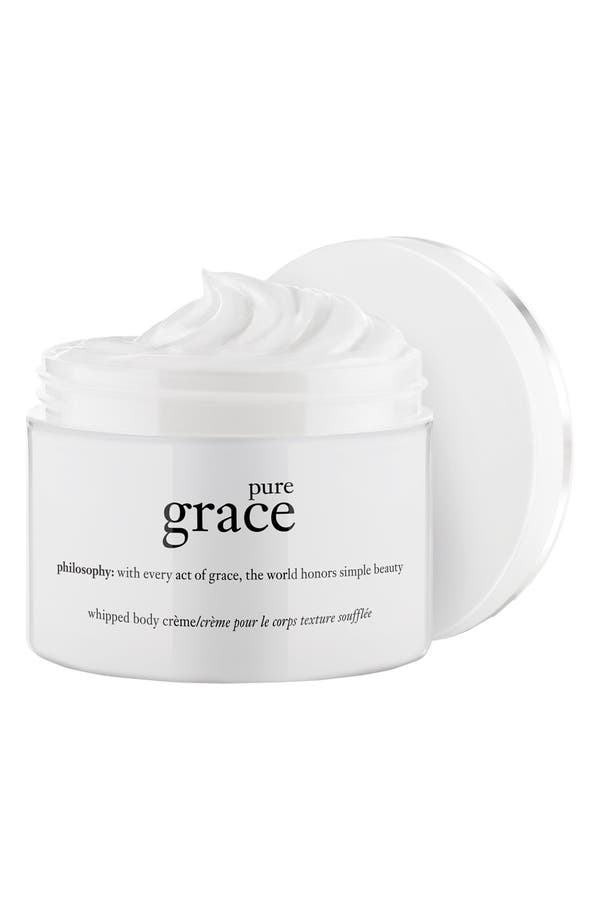Main Image - philosophy 'pure grace' whipped body crème