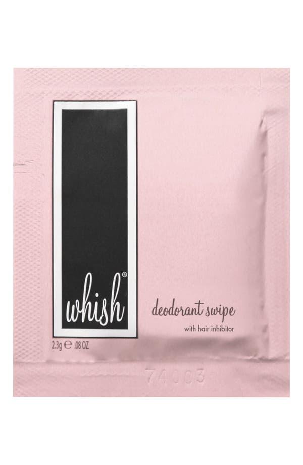 Alternate Image 1 Selected - Whish™ Deodorant Swipes