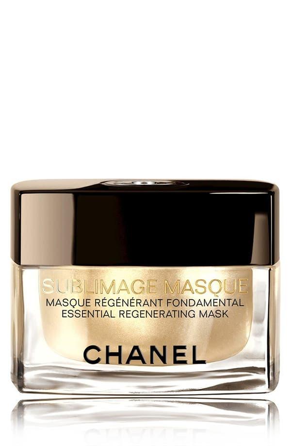 Alternate Image 1 Selected - CHANEL SUBLIMAGE MASQUE  Essential Regenerating Mask