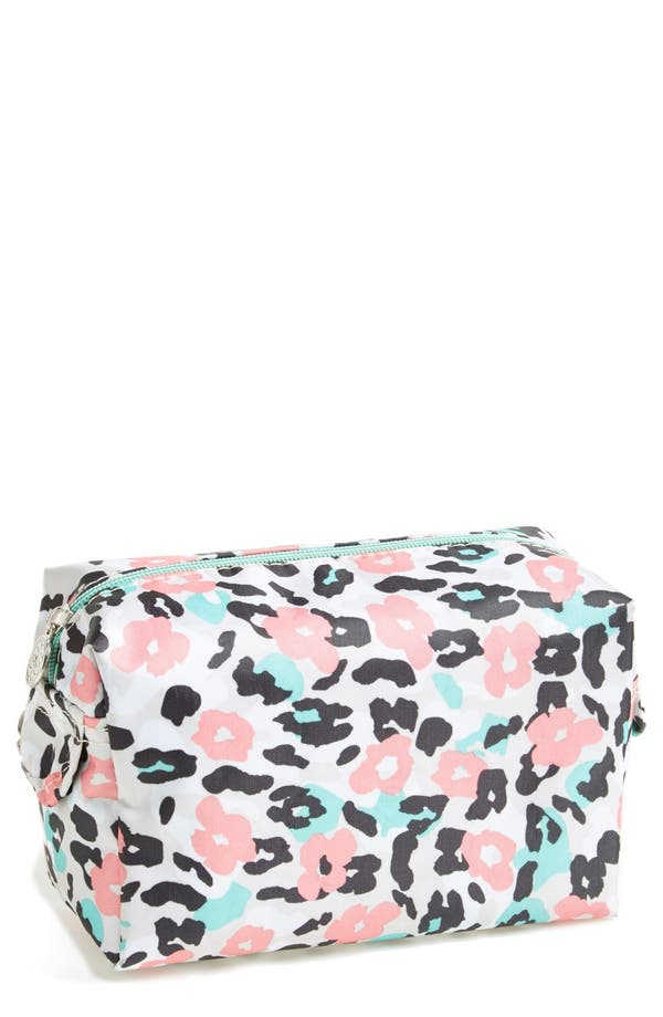 Main Image - Tri-Coastal Design 'Leopard' Print Cosmetics Case (Nordstrom Exclusive) (Special Purchase)