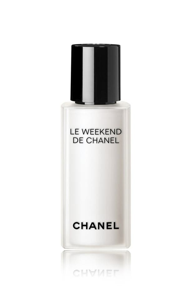 Alternate Image 1 Selected - CHANEL LE WEEKEND DE CHANEL Weekly Renewing Face Care