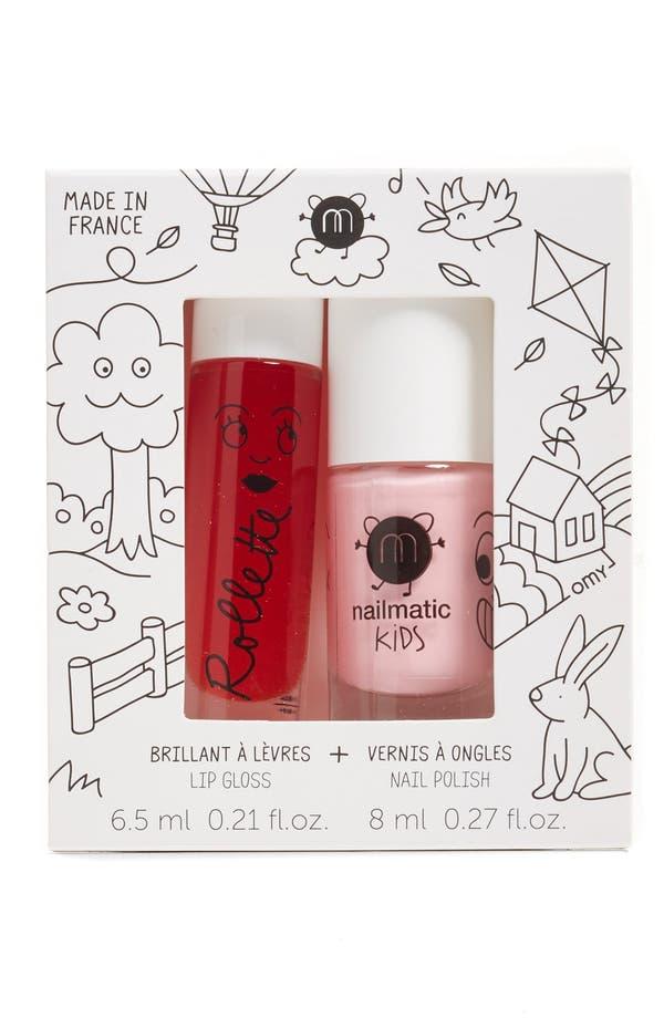 Alternate Image 1 Selected - Nailmatic Holidays Lip Gloss & Nail Polish Duo