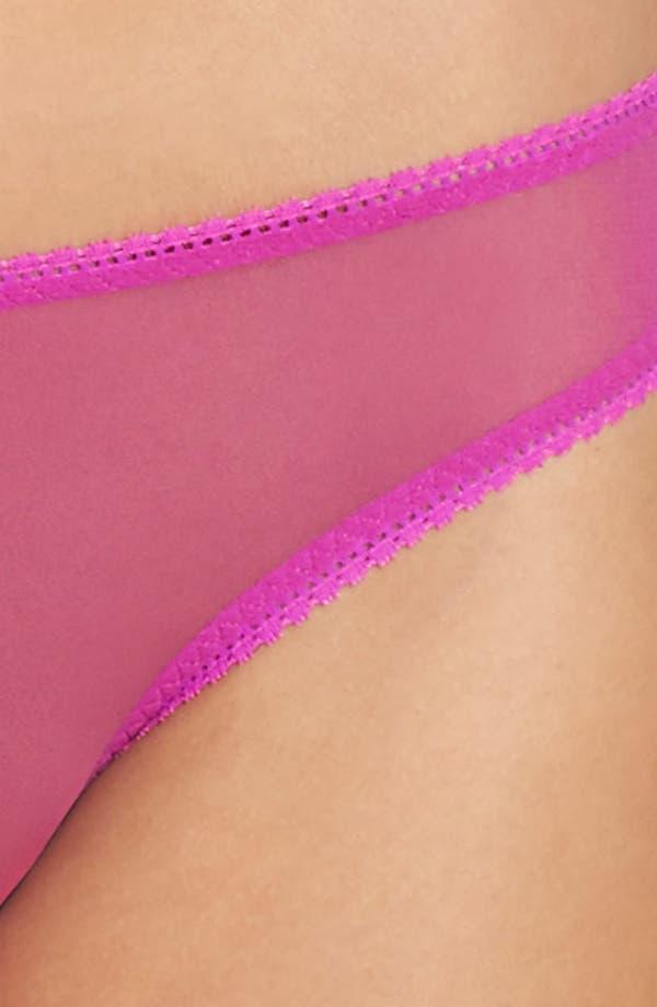 Alternate Image 8  - On Gossamer Mesh Bikini (3 for $45)