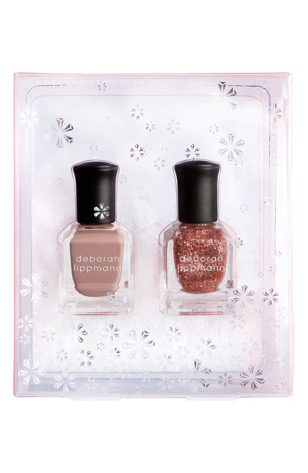 Alternate Image 1 Selected - Deborah Lippmann 'Roses in the Snow' Nail Color Duo (Limited Edition) ($25 Value)