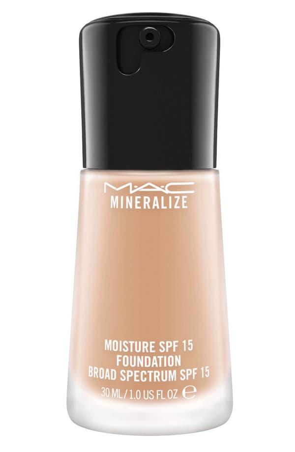 MAC Mineralize Moisture Foundation Broad Spectrum SPF 15