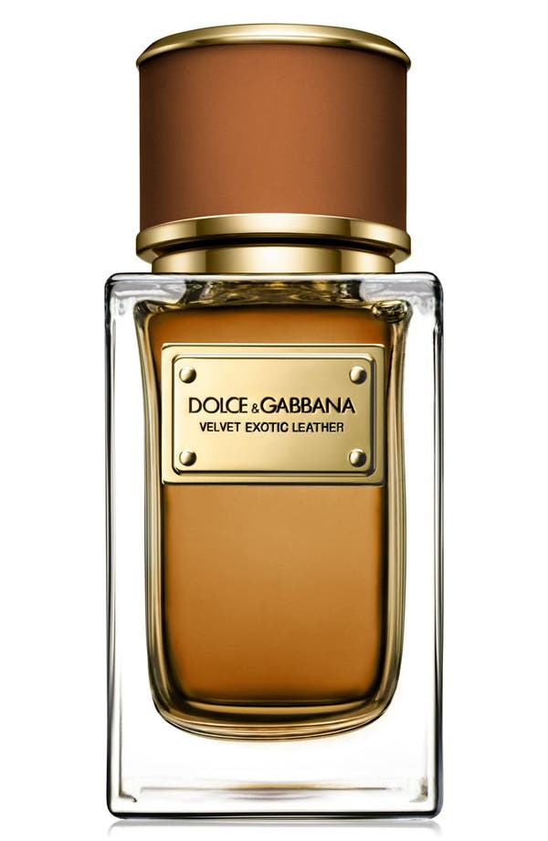 Main Image - Dolce&Gabbana Beauty 'Velvet Exotic Leather' Eau de Parfum