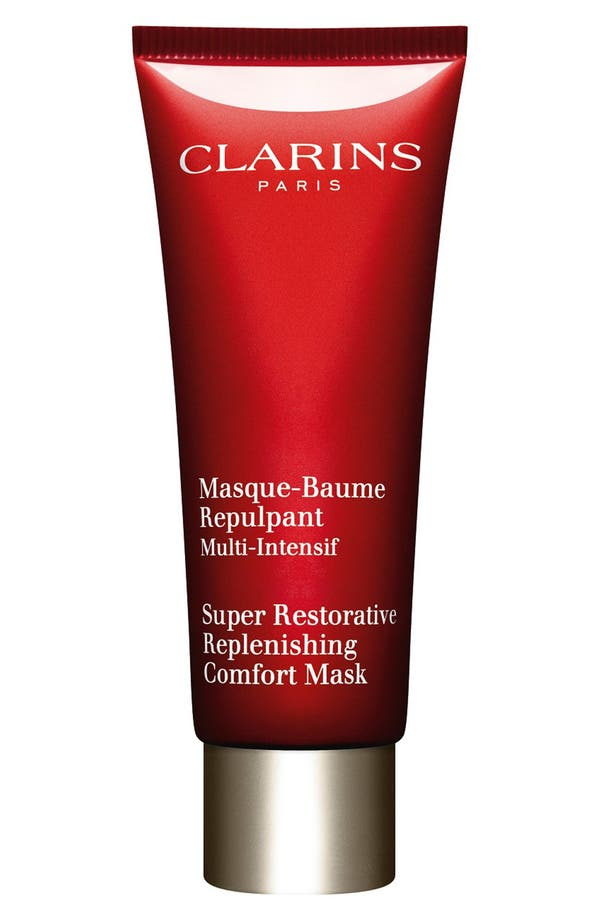Alternate Image 1 Selected - Clarins 'Super Restorative' Replenishing Comfort Mask