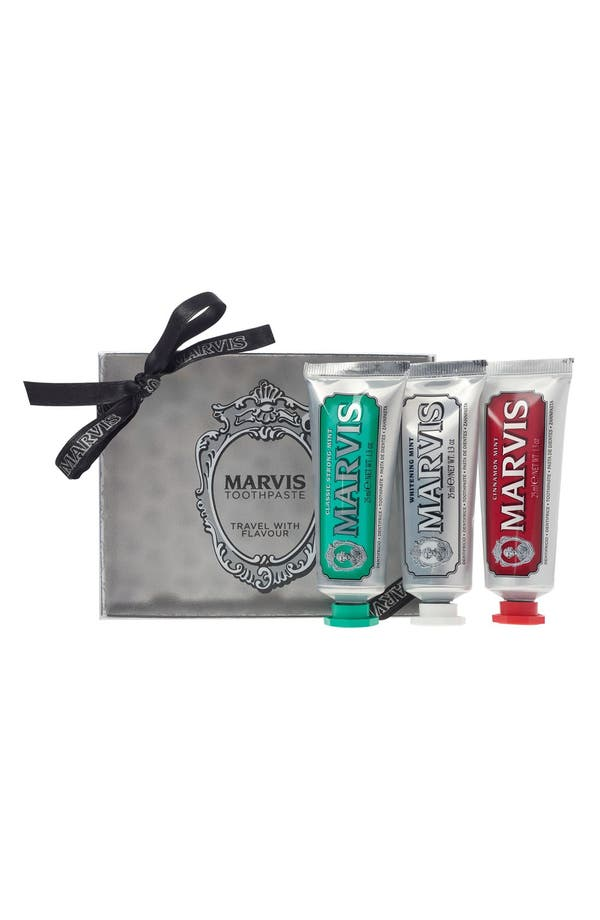 C.O. BIGELOW Marvis Travel with Flavor Set