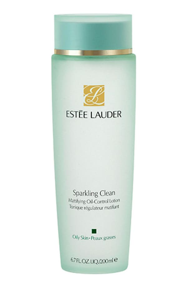 Main Image - Estée Lauder Sparkling Clean Mattifying Oil-Control Lotion