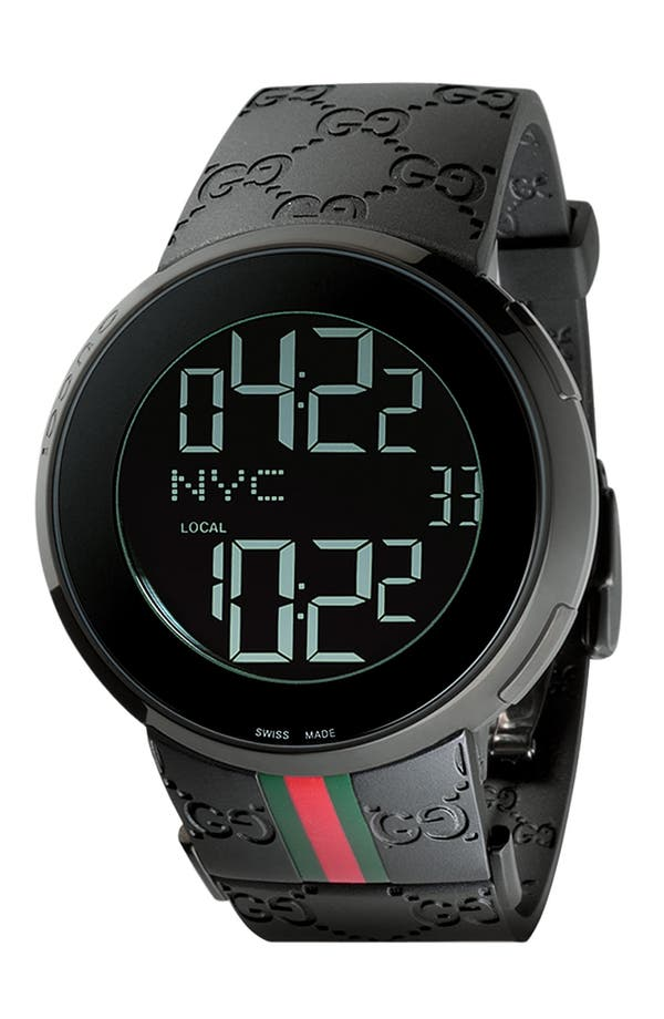 Alternate Image 1 Selected - Gucci Digital Watch, 44mm