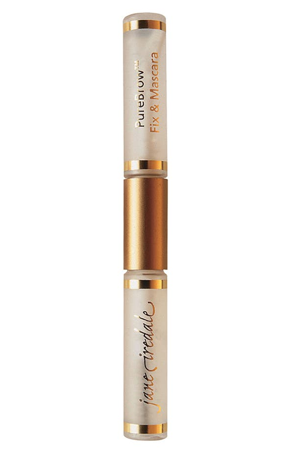 Alternate Image 1 Selected - jane iredale 'PureBrow™' Brow Fix & Clear Mascara