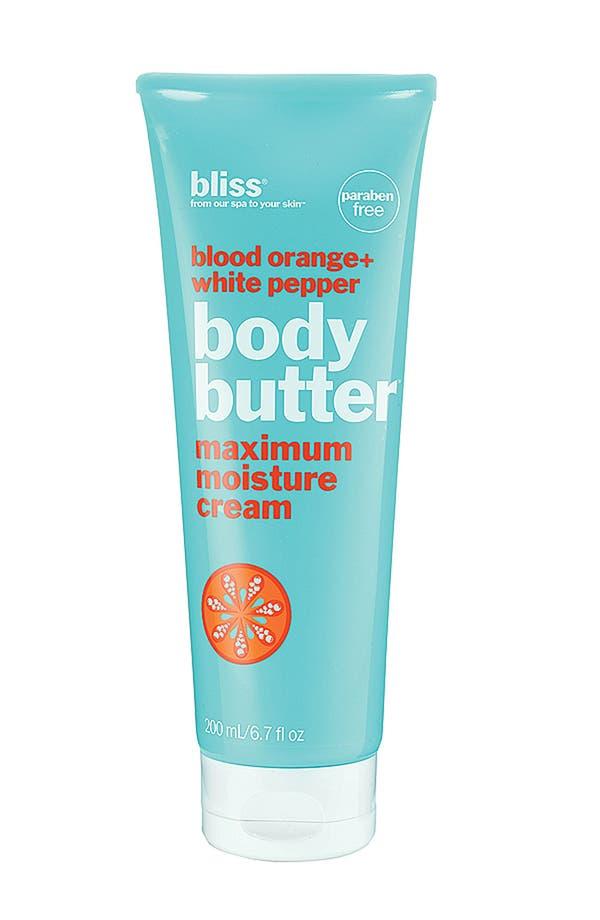 Alternate Image 1 Selected - bliss® Blood Orange + White Pepper Body Butter