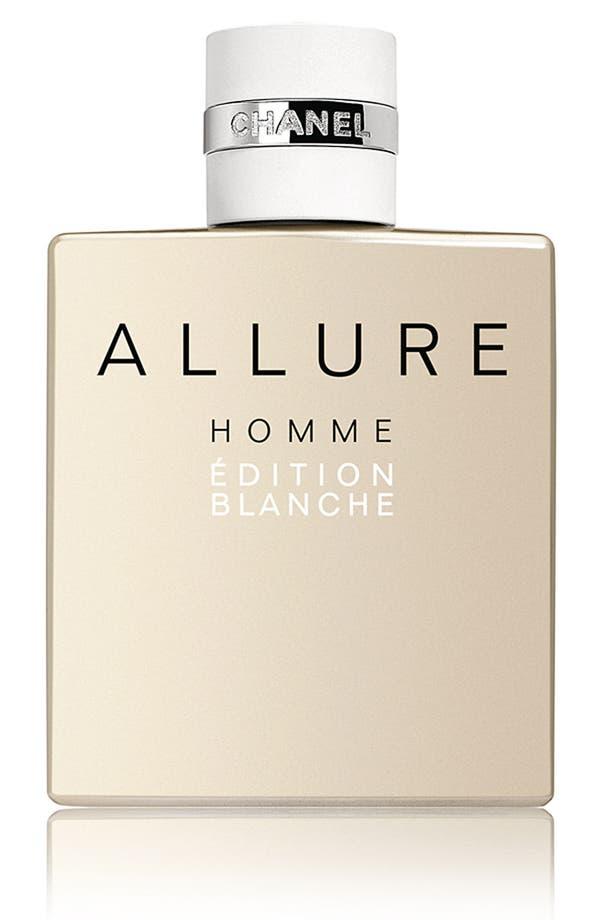 Alternate Image 1 Selected - CHANEL ALLURE HOMME ÉDITION BLANCHE  Eau de Parfum (3.4 oz.)