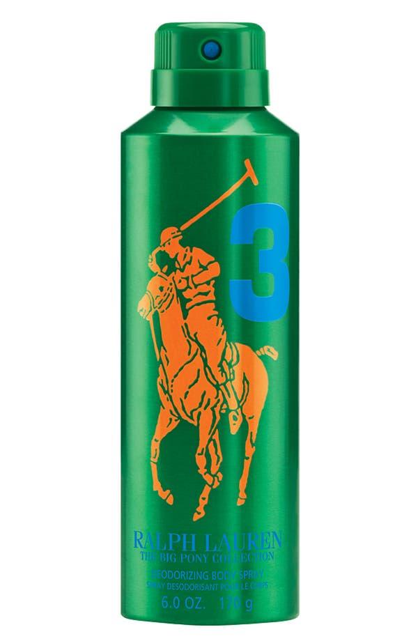 Alternate Image 1 Selected - Ralph Lauren 'Big Pony #3 - Green' Allover Body Spray