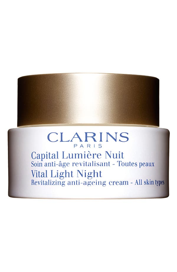 Alternate Image 1 Selected - Clarins 'Vital Light' Night Cream for All Skin Types