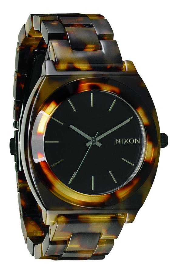 Main Image - Nixon 'The Time Teller' Watch, 37mm