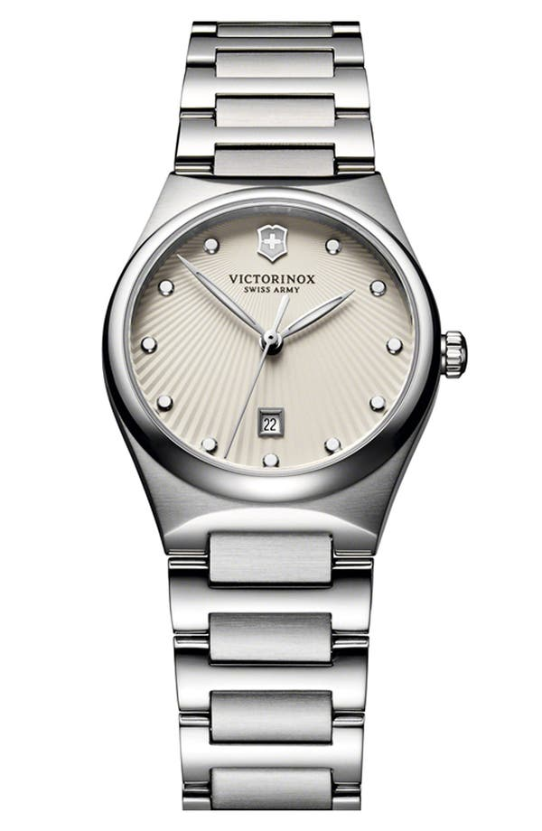 Alternate Image 1 Selected - Victorinox Swiss Army® 'Victoria' Bracelet Watch, 28mm
