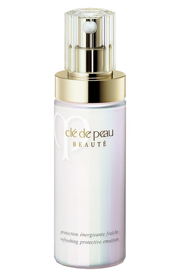 Alternate Image 1 Selected - Clé de Peau Beauté Refreshing Protective Emulsion SPF 22