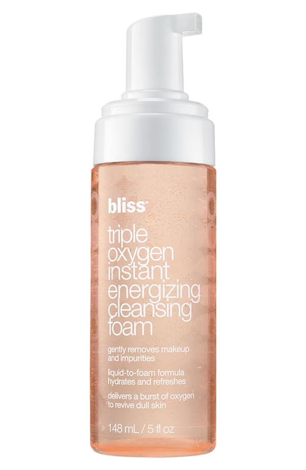 Alternate Image 1 Selected - bliss® 'Triple Oxygen' Instant Energizing Cleansing Foam