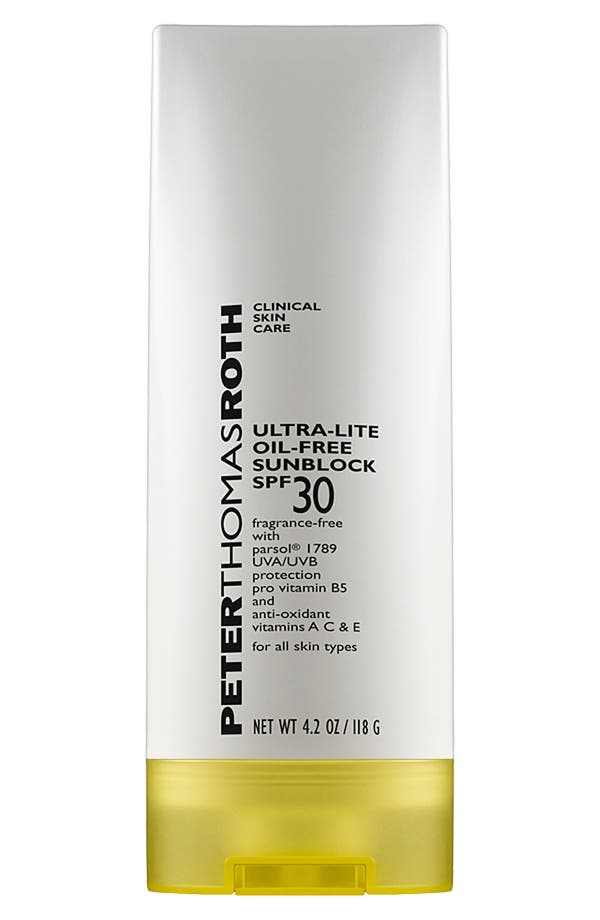 Alternate Image 1 Selected - Peter Thomas Roth Ultra-Lite Oil-Free Sunblock SPF 30