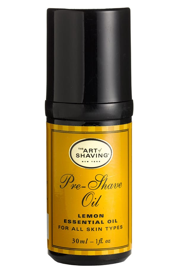 Main Image - The Art of Shaving® Pre-Shave Oil with Lemon Essential Oil