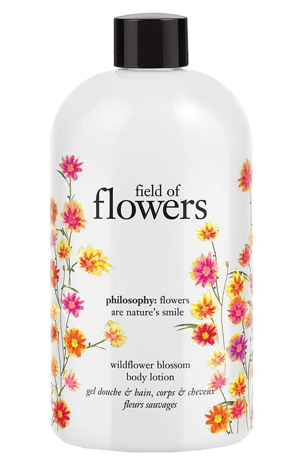 Main Image - philosophy 'field of flowers' wildflower blossom body lotion