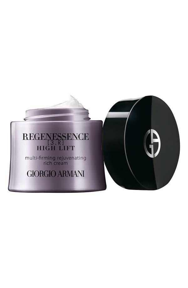 Main Image - Giorgio Armani 'Regenessence 3.R High Lift' Multi-Firming Rejuvenating Rich Cream