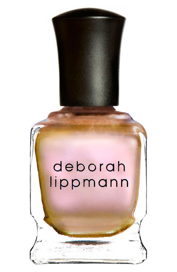 Alternate Image 1 Selected - Deborah Lippmann 'Sugar Daddy' Mirrored Chrome Nail Lacquer