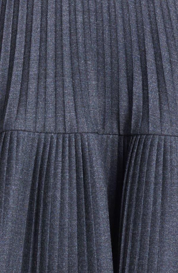 Alternate Image 3  - Marni Edition Pleated Mélange Flannel Skirt