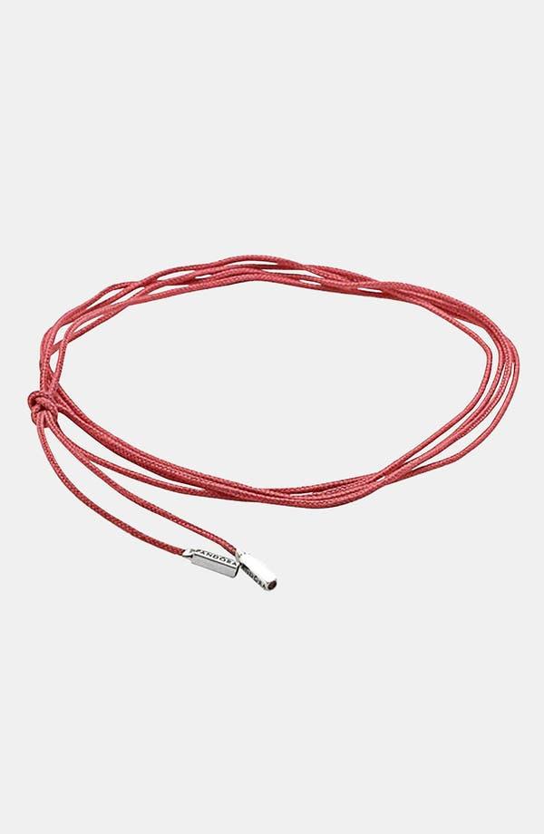 Alternate Image 1 Selected - PANDORA Cord Charm Bracelet