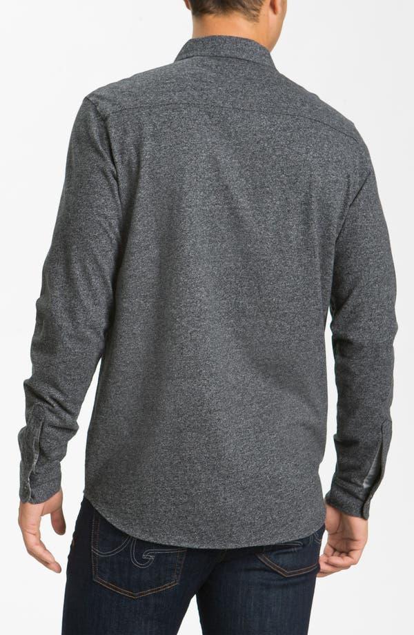 Alternate Image 2  - Hickey Freeman Knit Cotton Sport Shirt