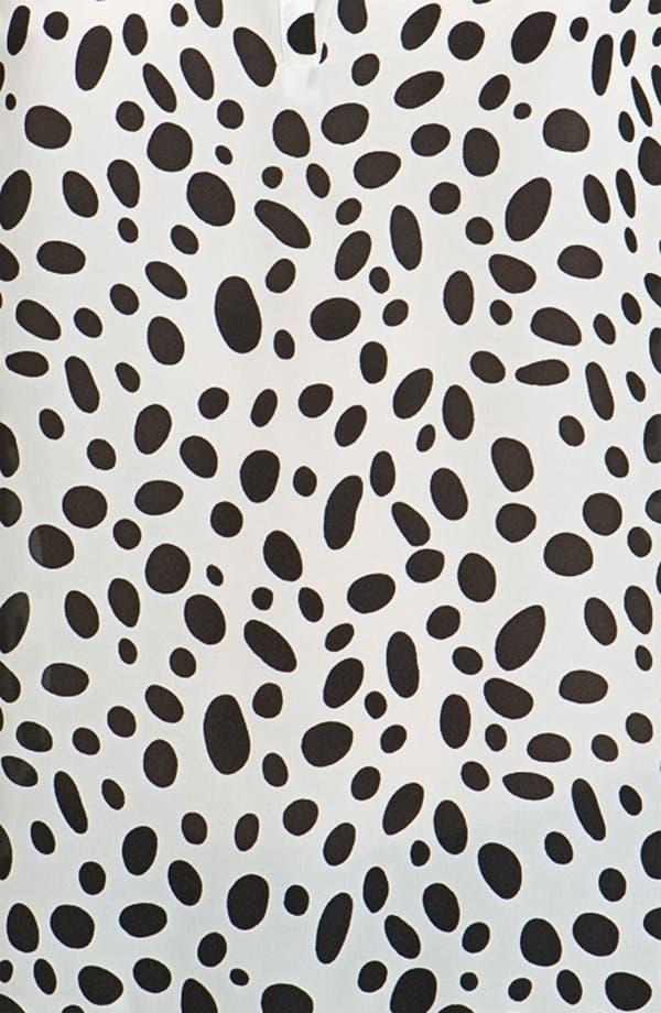 Alternate Image 3  - L'AGENCE Dalmatian Print Georgette Blouse