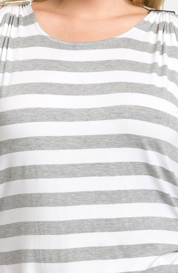 Alternate Image 3  - MICHAEL Michael Kors Pin Detail Cold Shoulder Tunic (Plus)