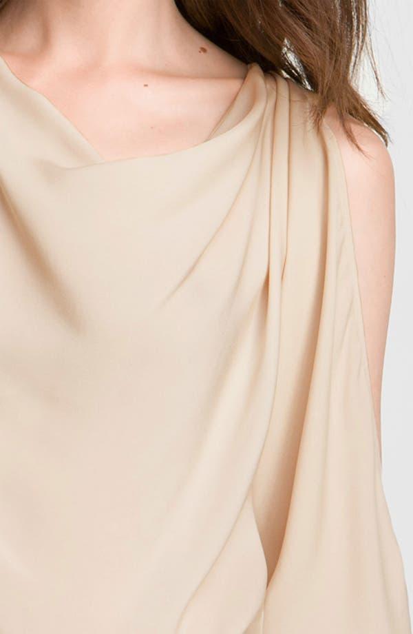 Alternate Image 3  - Haute Hippie Cutout Sleeve Silk Blouse