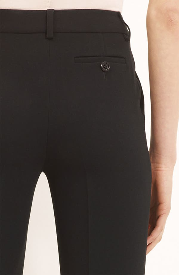 Alternate Image 3  - Moschino Cheap & Chic Slim Crepe Trousers